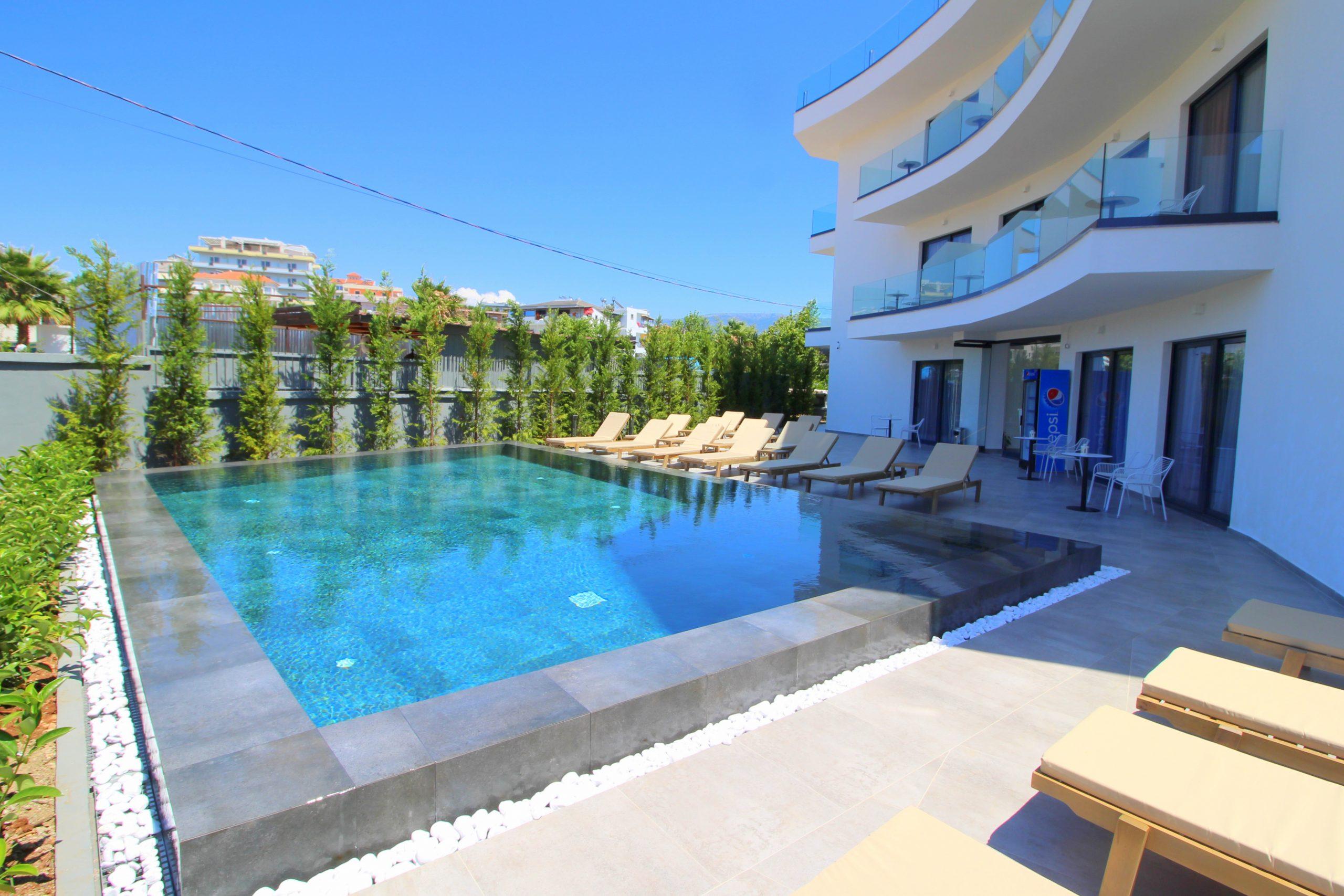 Blue Eye Hotel Ksamil Swimming Pool